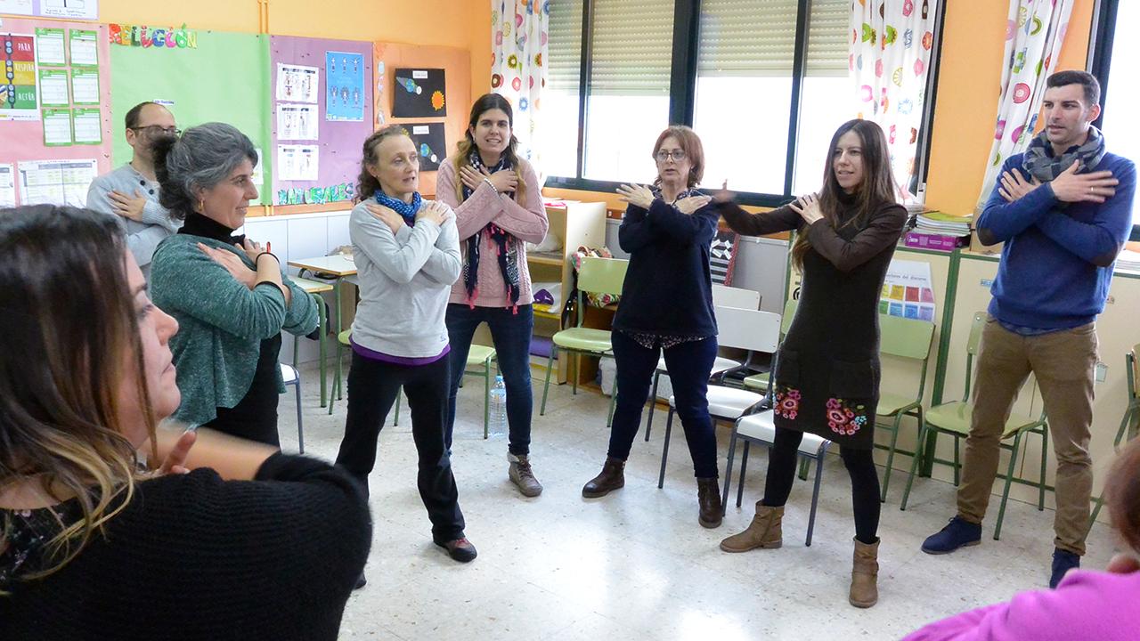 Talles_docentes_Programa_en_sus_zapatos_CRA_Riscos_Villavieja