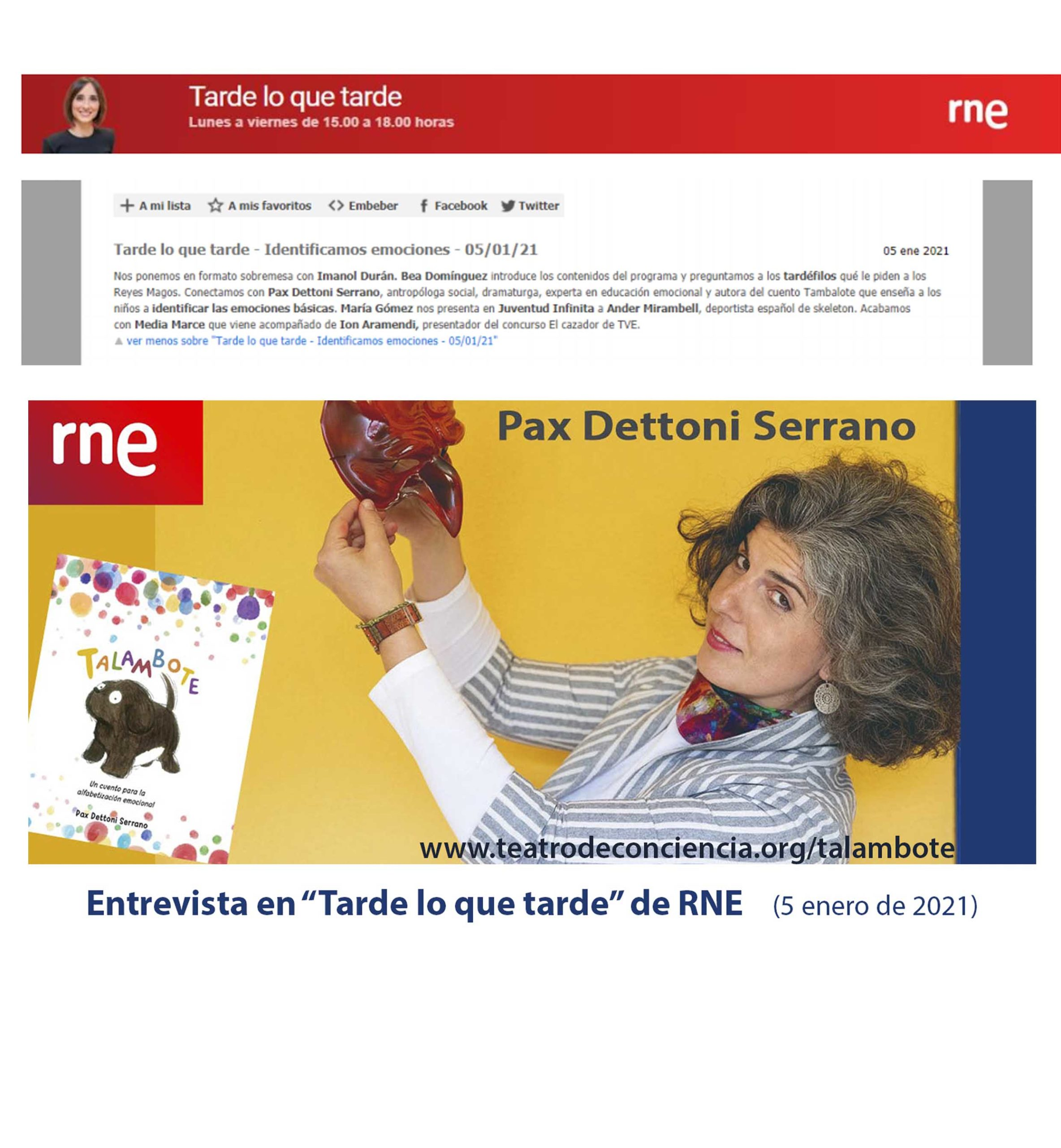 Carrusel 2 Talambote.RNE. Pax-Dettoni